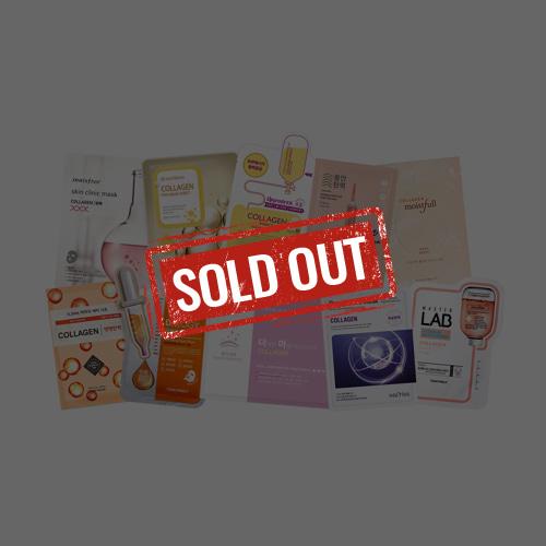 Mask Sheet Trial Kit (Collagen)