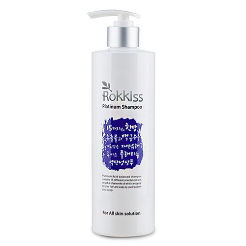 Rokkiss Platinum Shampoo 500ml