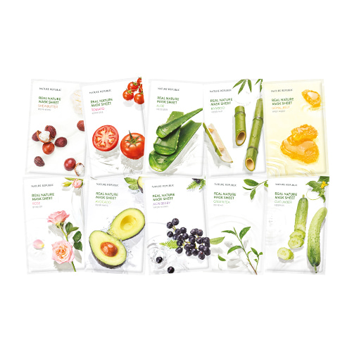 Mask Sheet Trial Kit (NATURE REPUBLIC)