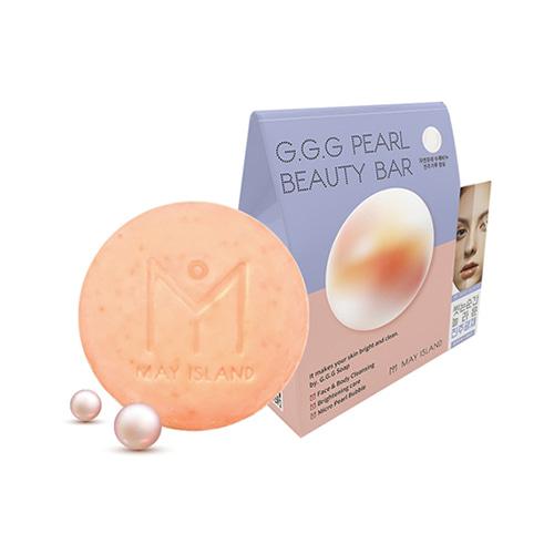 MAY ISLAND G.G.G Pearl Beauty Bar 100g