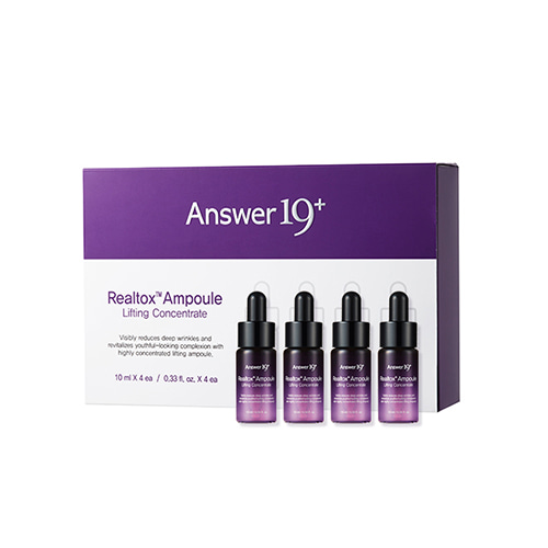 Answer19+ Realtox Ampoule Lifting Concentrate Set