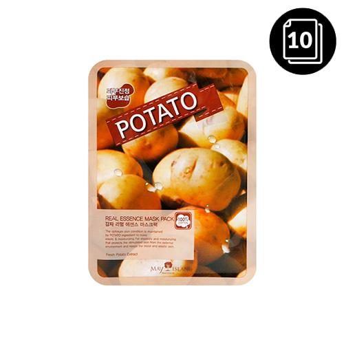 MAY ISLAND Potato Real Essence Mask Pack 10ea