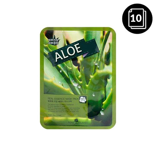 MAY ISLAND Aloe Real Essence Mask Pack 10ea