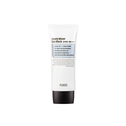 [TIME DEAL] PURITO Comfy Water Sun Block SPF50+ PA++++ 60ml