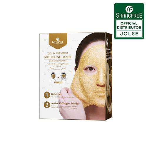 SHANGPREE Gold Premium Modeling Mask