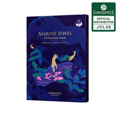 SHANGPREE Marine Jewel Hydrating Mask 5ea