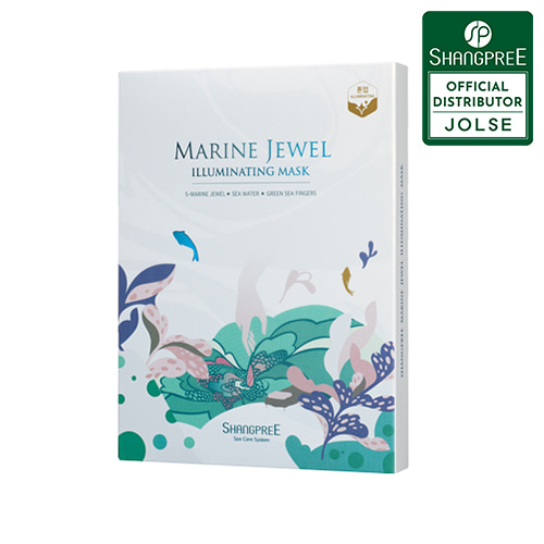 SHANGPREE Marine Jewel Illuminating Mask 5ea