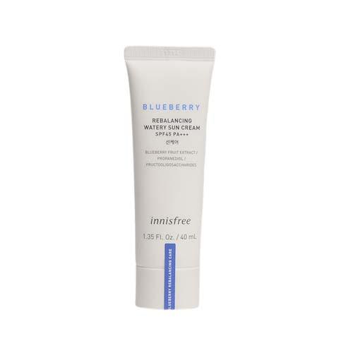 innisfree Blueberry Rebalancing Watery Sun Cream SPF37 PA+++ 40ml