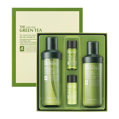 TONYMOLY The Chok Chok Green Tea Watery Set