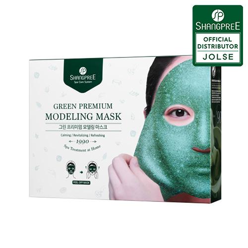 SHANGPREE Green Premium Modeling Mask 5ea