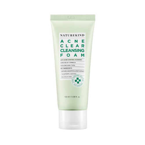 NATUREKIND Acne Clear Cleansing Foam 100ml