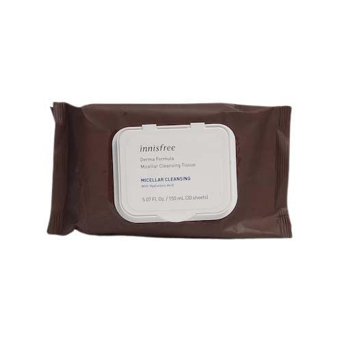 innisfree Derma Formula Micellar Cleansing Tissue 30ea
