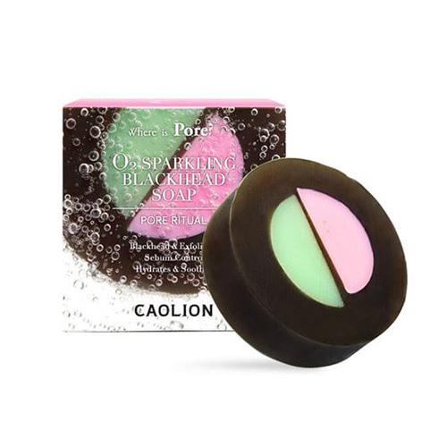 CAOLION Pore Blackhead O2 Sparkling Soap 100g