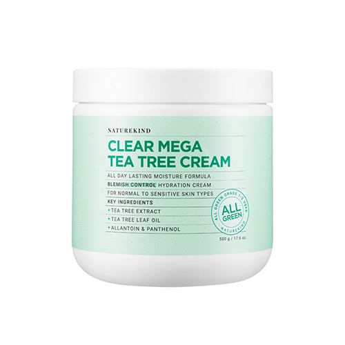 NATUREKIND Clear Mega Tea Tree Cream 500g