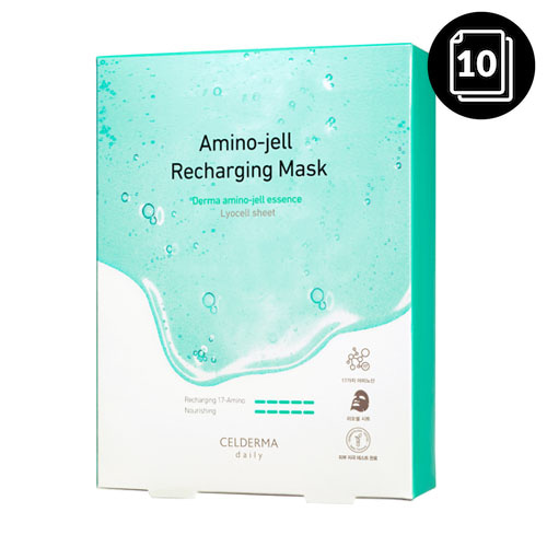 CELDERMA daily Amino-jell Recharging Mask 10ea