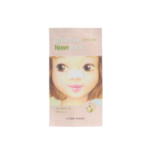 ETUDE HOUSE Greentea Nose Pack 5 sheets