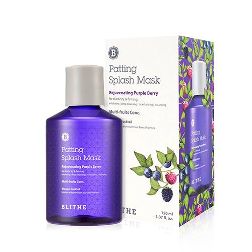 BLITHE Patting Splash Mask Rejuvenating Purple Berry 150ml