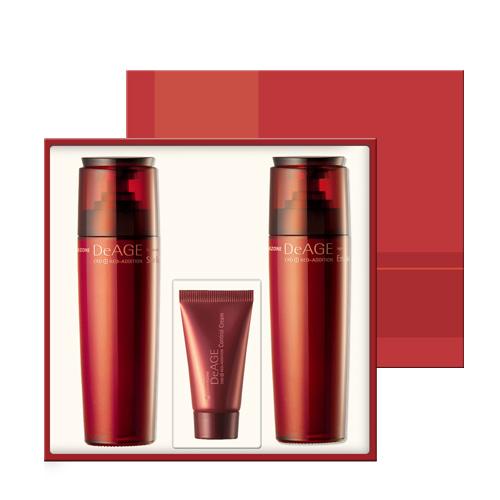 CHARMZONE DeAGE Red-Addition Skin Toner + Emulsion Set