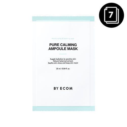 BY ECOM Pure Calming Ampoule Mask 7ea