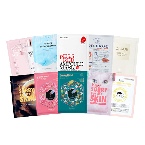 Mask Sheet Trial Kit (NEW)