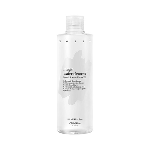 [TIME DEAL] CELDERMA daily Magic Water Cleanser 300ml