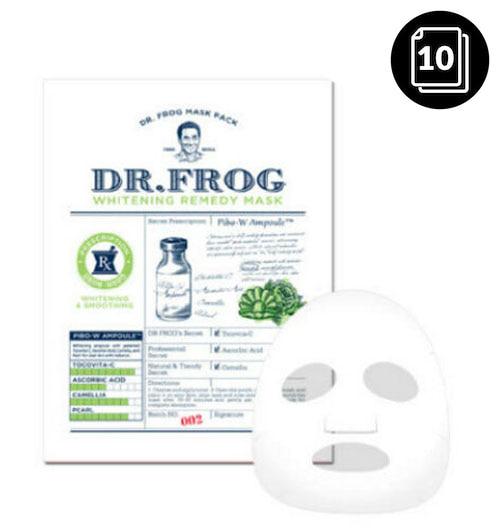CHARMZONE Dr.Frog Whitening Remedy Mask 10ea