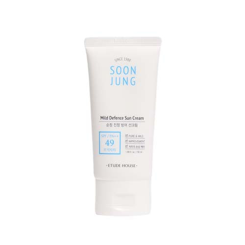 ETUDE HOUSE Soon Jung Mild Defence Sun Cream SPF49 PA++ 50ml