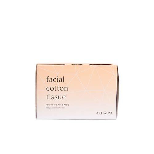 ARITAUM Facial Cotton Tissue 100ea