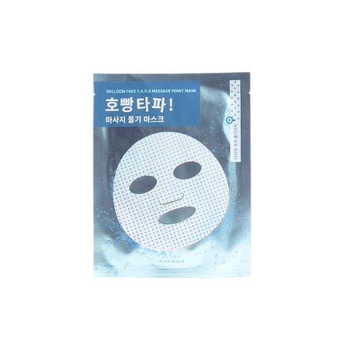 ETUDE HOUSE Balloon Face T.A.P.A Massage Point Mask 3ea