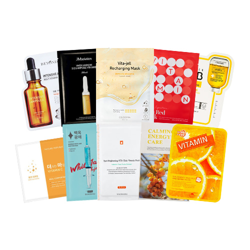 Mask Sheet Trial Kit (Vitamin)