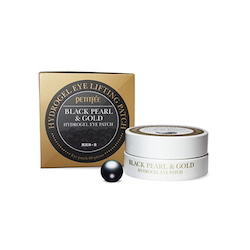 [TIME DEAL] Petitfee Black Pearl & Gold Eye Patch 60ea (30days)