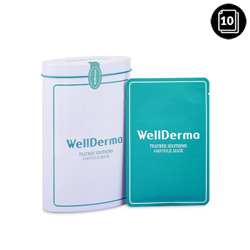 WellDerma Teatree Soothing Ampoule Mask 10ea