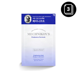 HOLIKA HOLIKA Mechnikov's Probiotics Formula Brightening Mask 3ea