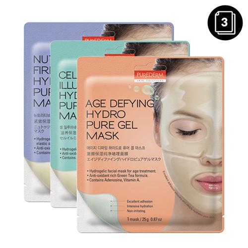 PUREDERM Hydro Pure Gel Mask 3ea