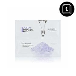 Troiareuke ACSEN Purple Cica mask 1ea