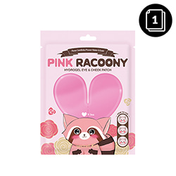 secretKey Pink Racoony Hydrogel Eye & Cheek Patch 3ea