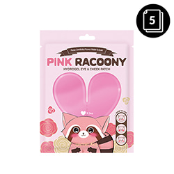 secretKey Pink Racoony Hydrogel Eye & Cheek Patch 3ea * 5