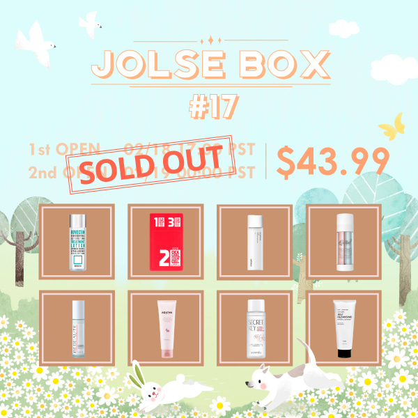 JOLSE BOX #17 SOLD OUT