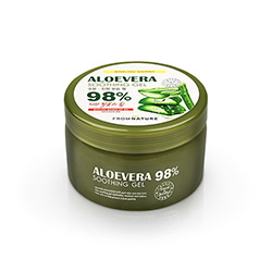 FROM NATURE Aloevera 98% Soothing Gel 500g
