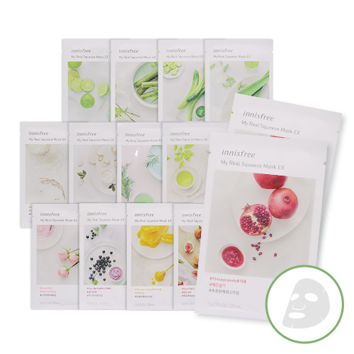 Mask Sheet Trial Kit (innisfree)