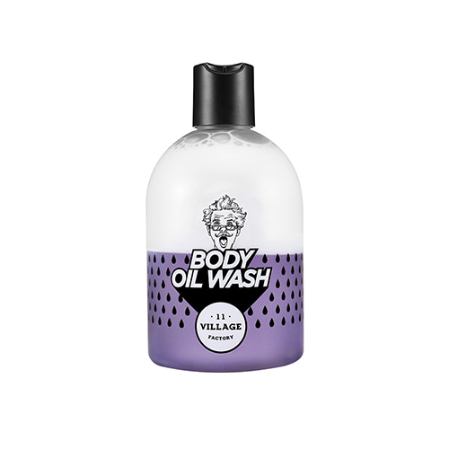 VILLAGE 11 FACTORY Relax Day Body Oil Wash Violet 300ml