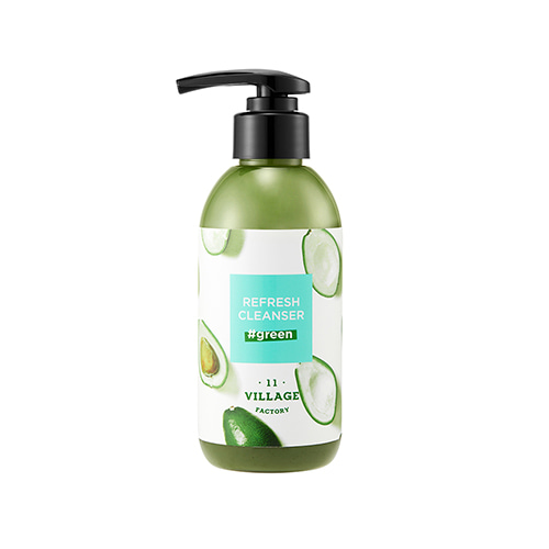 VILLAGE 11 FACTORY Refresh Cleanser Green 185g