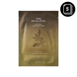 Missha Time Revolution Artemisia Jelly Sheet Mask 23g*5ea
