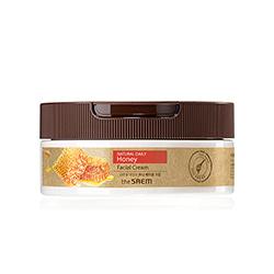 the SAEM NATURAL DAILY Honey Facial Cream 200ml