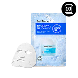 Real Barrier Aqua Soothing Gel Cream Mask 10ea