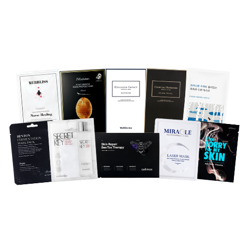 Mask Sheet Trial Kit (Black & White)