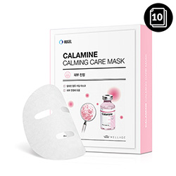 WELLAGE Calamine Calming Care Mask 25ml * 10ea