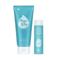 CAREZONE Nordenau Water Magic Whip Cleansing Foam Set