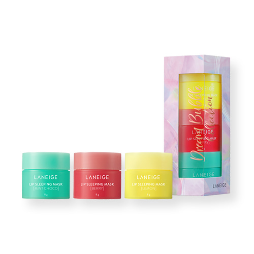 LANEIGE Lip Sleeping Mask Trio Set Holiday Limited Edition