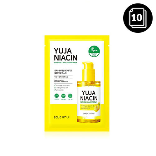 SOME BY MI Yuja Niacin Blemish Care Serum Mask 10ea